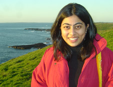 Devyani, studying at Monash University