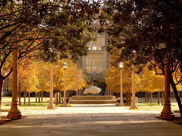 Texas Tech in Fall