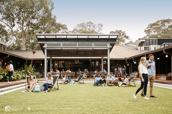 University of Newcastle students on campus