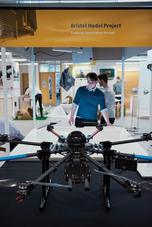 uwe bristol student with drone